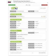Datos aduaneros de importación de productos químicos orgánicos de Venezuela