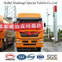 40cbm Sinotruk Euro 4 camión cisterna bituminoso de polvo de carbón con el motor del hombre