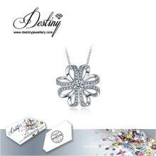 Destiny Jewellery Crystal From Swarovski Necklace Elated Pendant
