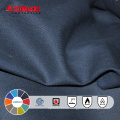 Big Sales Wholesale Cotton Navy Blue Fire Proof Fabric for Clothing