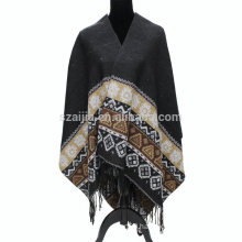 Fashion ladies print winter pashmina shoulder scarf wrap