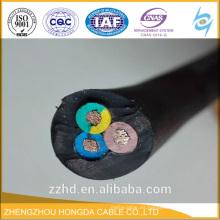 Cable de goma H07RN-F 450 / 750V