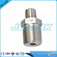 Raccord de tuyauterie en fonte ductile hexagonale réduisant la qualité