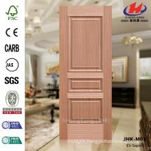 JHK-M03 Embossing Press Office Living Hot Sale Saudi Arabia Sapeli Three Panel Door Panel