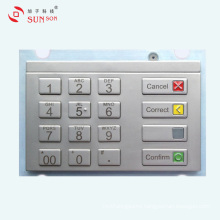 Water Proof Encryption PIN pad for Vending Machine