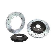 Vente chaude rotor de frein de forage 285 * 24mm pour Subaru / outlander / toyota