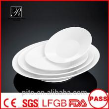 P & T cerâmica fábrica sutil linha de placas, pratos de porcelana profunda, placas de salada