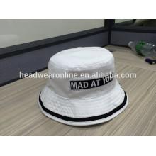 Gute Qualität 100% Baumwolle Eimer Hut, Design besitzen Ihre Logo Eimer Hut