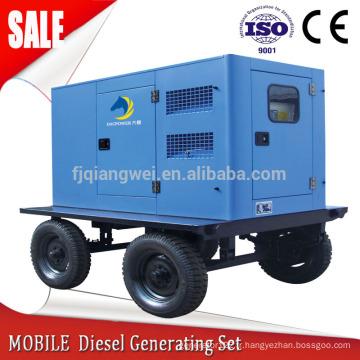 Groupe électrogène mobile 80kw diesel maison générateurs portables 100kva