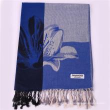 2016 Hot Sale Dark Blue Fashion Scarf Winter Pashmina Shawl para mulheres