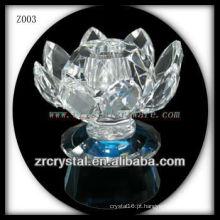 Suporte de vela de cristal popular Z003