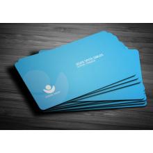 Pequeña cantidad su diseño que visita la llamada y la impresión de la tarjeta de visita