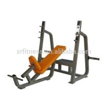 Fitness equipment wholesale gym Bancada de imprensa inclinada