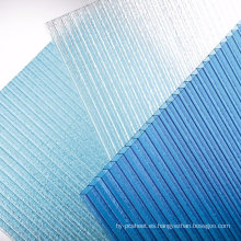 Hoja de policarbonato hoja de múltiples paneles claraboya