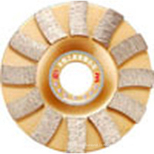 Diamond Sintered Cup Wheels Blade pour Stone