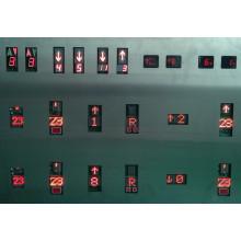 Indicateur de l'ascenseur, ascenseur, affichage en série, parallèle voyant