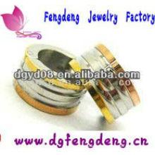 Jóias em aço inoxidável 316L brincos de argola para homens