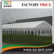 800 Sitzer im Freien Hochzeitsessen Zelt 20m x50m mit Tanzfläche