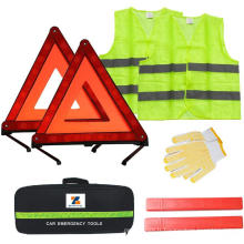 Kit de sécurité d'urgence routière pour voiture