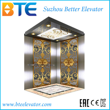 Ce Good Decoration Passenger Lift Without Machine Room