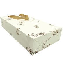 High Quality Packaging Promotion Bag Logo Custom Print Glossy Lamination Art Paper Shopping Bag