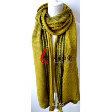 Acrylic Knitted Shawl (12-BR201812-8)
