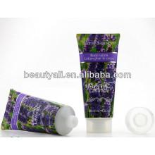 Этикетировочная косметическая трубка для лосьона для тела, пластиковая трубка для косметической упаковки