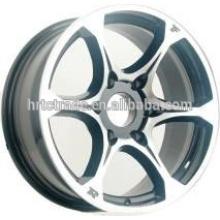 Rodas de réplica de HRTC cabem para toyota Lexus 17 * 7,5 polegadas cor preto hiper