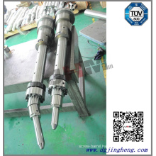 Double Coloured Injection Molding Machine Barrel