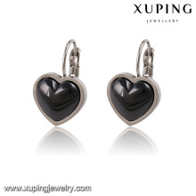 91782 Fashion Elegant Ceramic Heart-Shaped Jewelry Earring Clip