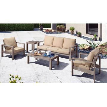 Aluminium Modern Outdoor Furniture Sofa Set