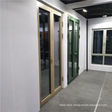 Aluminium French  Doors Double Glazed Glass Tempered Awning and Sliding Aluminum Frame Window