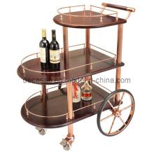Three-Tiered Wine Trolley (DE24)
