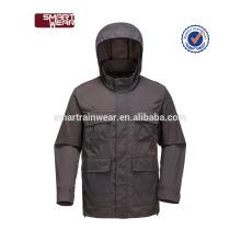 Wholesale haute qualité noir étanches vestes de collège