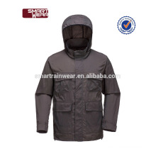 Wholesale high quality black waterproof college jackets