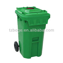 custom design plastic Outdoors trash can injection mould