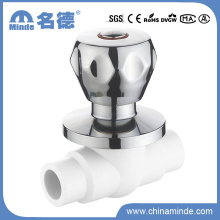 Válvula de esfera de bronze de PPR para o material de construção da água (PN25)