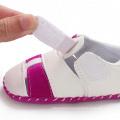 China fornecedores macio único fio de costura para recém-nascidos mocassins sapatos