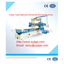 Tipo de tabela Manual Horizontal Boring Machine preço e fornecedor para venda
