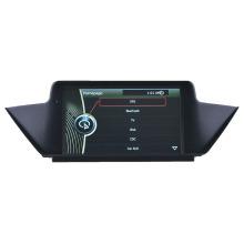 Système de suivi de voiture Lecteur DVD Navigation GPS pour BMW X1 E84