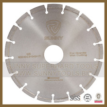 Diamond Segment Saw Blade for Granite Cutting