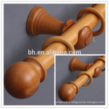 Classic Style Natural Wooden Rod