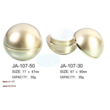 Round Ball Acrylic Cream Jar