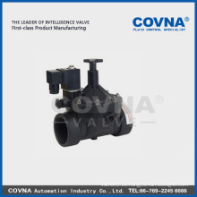 Electroválvula de cierre de bajo consumo, válvula de solenoide de irrigación, válvula de solenoide eléctrica de agua