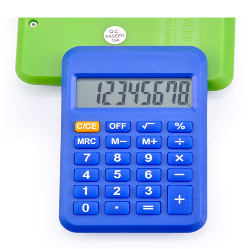 auto power off pocket calculator