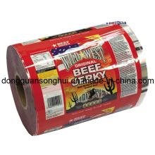 Beef Jerky Embalagem Filme / Snack Roll Filme / Plástico Food Film