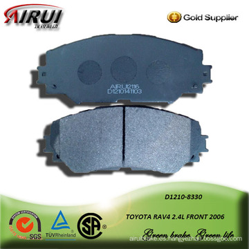 Semi-metallic car brake pad for TOYOTA RAV4 2.4L FRONT 2006