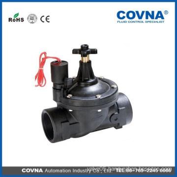 flow rate adjustable plastic lawn irrigation valve IP68 pvc