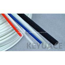 Aislamiento de tubo de fibra de vidrio recubierto de silicona