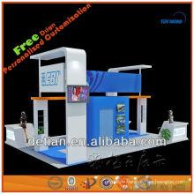 Stand de stand de salon de démonstration fait sur commande portatif d'exposition de stand pour la location et la vente en Chine